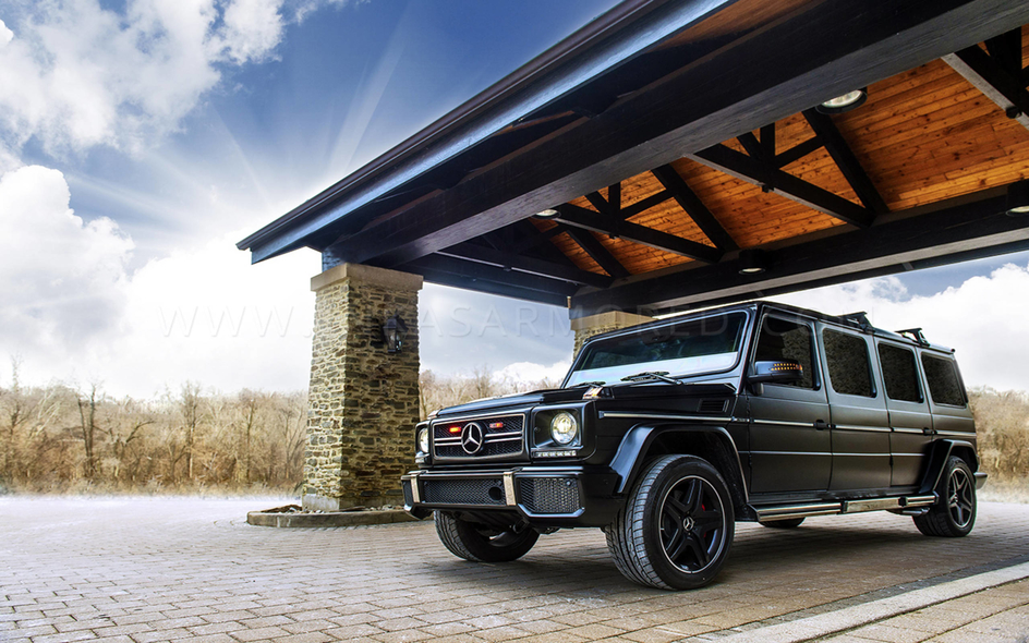 bulletproof G-wagon