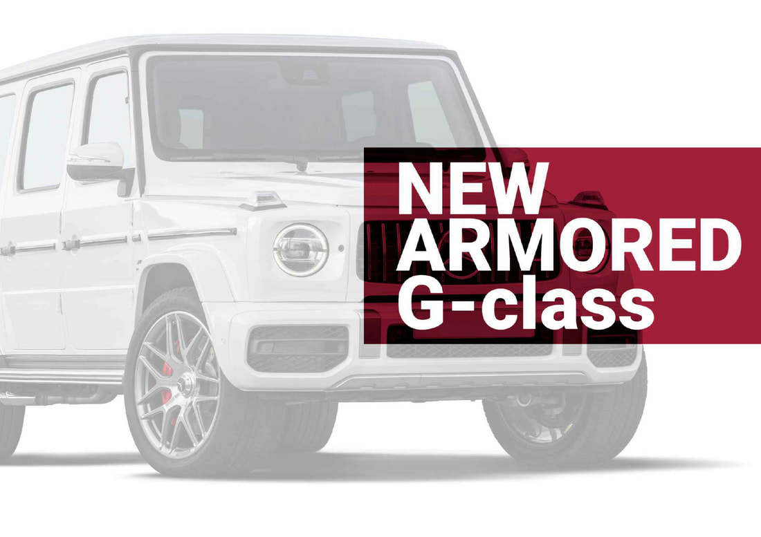 THE NEW ALTERNATIVE OF BULLETPROOF G-WAGONS